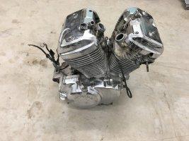 Двигатель NC25E Honda NV400 Steed NC26