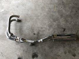 Выхлоп глушитель левый Honda CB750 CB 750 RC42