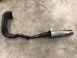 Выхлоп глушитель Kawasaki GPZ1100 GPZ 1100